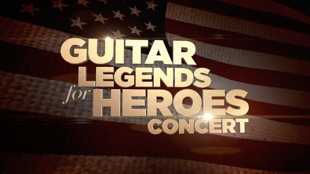 Guitar Legents for Heroes Concert