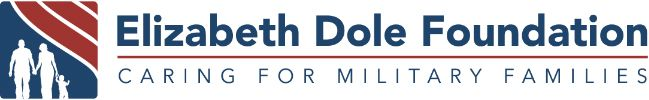 Logo of Elizabeth Dole Foundation Caring for Military Families